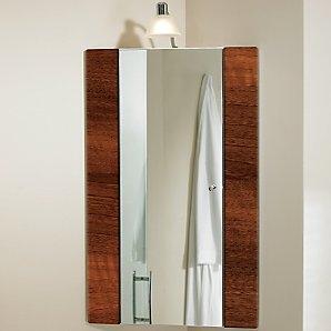 Bathroom cabinet corner mirror bathroom cabinets for Corner bathroom wall cabinet with mirror