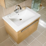 Gelcast Washbasin single drawer unit 60  - 80 - 100