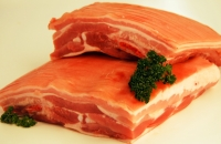 Succulent Free Range Belly Pork