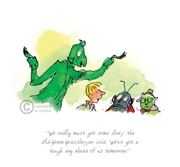Quentin Blake - Roald Dahl - James & the Giant Peach ...