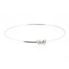 Clarity Wrapped Bangle