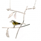 Long Tailed Tit on Elder Necklace