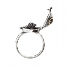 Over the moon ring