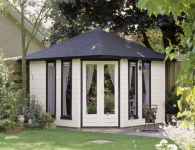 Lugarde Summerhouses and Log Cabins - Christopher Designs
