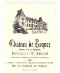 Ch Roques - St Emilion