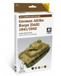 VALLEJO GERMAN AFRIKA KORPS 1941/1942 #78.409