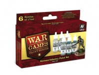 VALLEJO GERMAN INFANTRY PAINT SET #70154