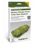 VALLEJO MODERN RUSSIAN GREEN SET #78.408