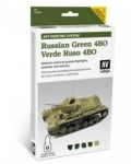 VALLEJO RUSSIAN GREEN 4BO AFV PAINTING SYSTEM 78.403