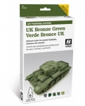 VALLEJO UK BRONZE GREEN SET #78.407