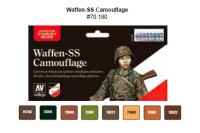 VALLEJO WAFFEN SS CAMOUFLAGE SET #70180