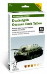 VALLEJO DUNKELGELB GERMAN DARK YELLOW AFV PAINTING SYSTEM 78.401