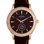 Rotary Ladies Rose Gold Case Watch