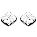 Sterling Silver Flora Stud Earrings
