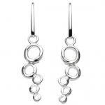 Sterling Silver Mini Honeycomb Earrings