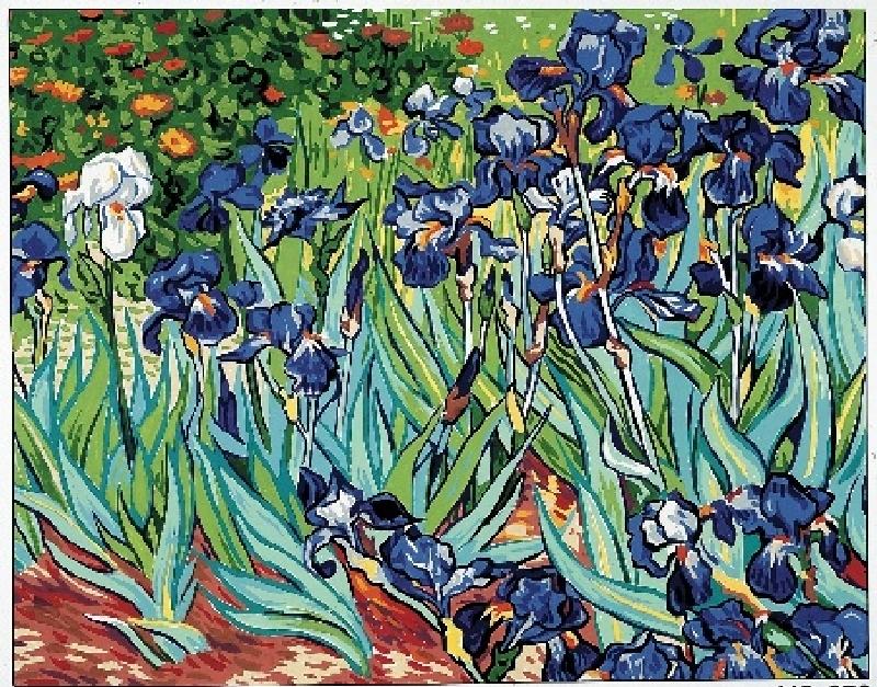 Irises Van Gogh Irises canvas by van goghVan Gogh Irises Getty