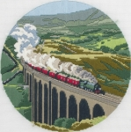 Anchor Long Stitch Kit - The Dalesman (Steam Train)