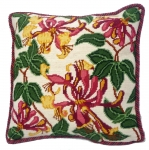 Cleopatra's Needle Needlepoint Cushion Kit - Pink Honeysuckle
