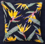 Cleopatra's Needle Needlepoint Kit - Herb Pillow - Bird of Paradise
