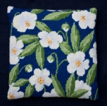 Cleopatra's Needle Needlepoint Kit - Herb Pillow - Christmas Rose