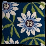Cleopatra's Needle Needlepoint Kit - Herb Pillow - Passion Flower
