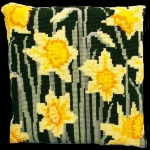 Cleopatra's Needle Needlepoint Kit - Herb Pillow - Daffodils