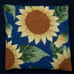 Cleopatra's Needle Needlepoint Kit - Herb Pillow - Sunflower