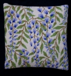 Cleopatra's Needle Needlepoint Kit - Herb Pillow - Wisteria