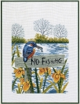 Eva Rosenstand Cross Stitch Kit - Kingfisher