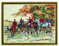 Eva Rosenstand Cross Stitch Kit - The Hunt
