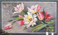 Id�na Long Stitch Kit - Tulips