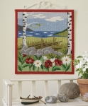 Id�na Long Stitch Picture Kit - Summer Scene
