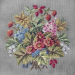 Jolles Tramme Tapestry/Needlepoint Kit - Garden Bouquet