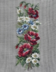 Jolles Tramme Tapestry/Needlepoint Kit � Poppy Panel/Bellpull