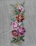 Jolles Tramme Tapestry/Needlepoint Kit � Rose Panel/Bellpull