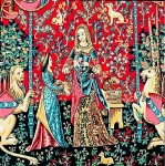 Margot de Paris Tapestry/Needlepoint �  Lady and Unicorn II