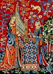Margot de Paris Tapestry/Needlepoint � Cluny Senses - Hearing