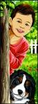 Margot de Paris Tapestry/Needlepoint � Hide and Seek