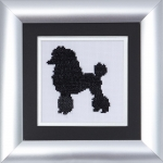 Pastimes & Present Days Cross Stitch Kit - French Poodle