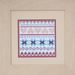 Pastimes & Present Days Cross Stitch Kit - Sampler