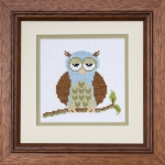 Pastimes & Present Days Cross Stitch Kit - Wise Owl