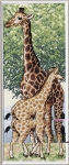 Royal Paris Cross Stitch Kit - Giraff.