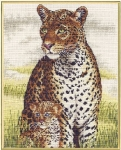 Royal Paris Cross Stitch Kit - Panther