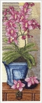 Royal Paris Cross Stitch Kit - Pink Orchids