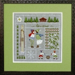 Royal Paris Embroidery Kit - January (Janvier)
