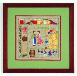 Royal Paris Embroidery Kit - September - December