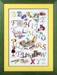 Royal Paris Freestyle Embroidery Kits - Needlecrafter's Alphabet