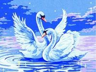 Royal Paris Starter Tapestry Kit � Pair of Swans