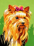 Royal Paris Starter Tapestry Kit - Yorkshire Terrier