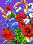 Royal Paris Starter Tapestry/Needlepoint Kit � Country Flowers